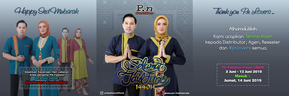 PN Fashion - Happy Ied Mubarak 1440H