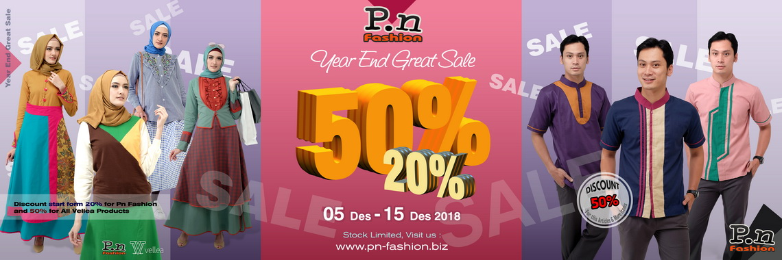 PN and Vellea Year End Sale 2018